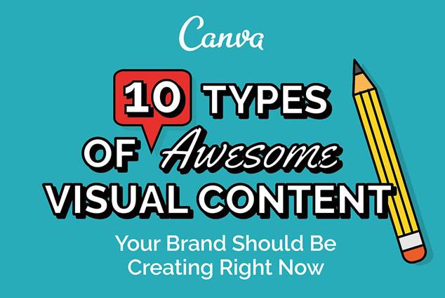 10 tipos de contenido visual que mejorará tu campaña de medios