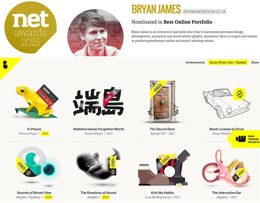 Net awards – lo mejor del diseño y desarrollo web