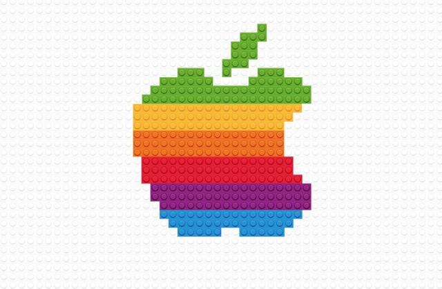 Los logotipos hechos de Lego