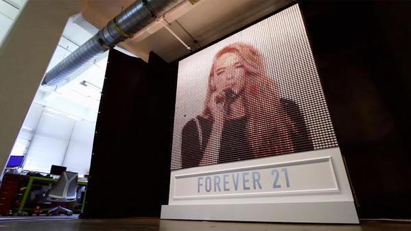 Forever 21 convierte fotos de Instagram con hilos