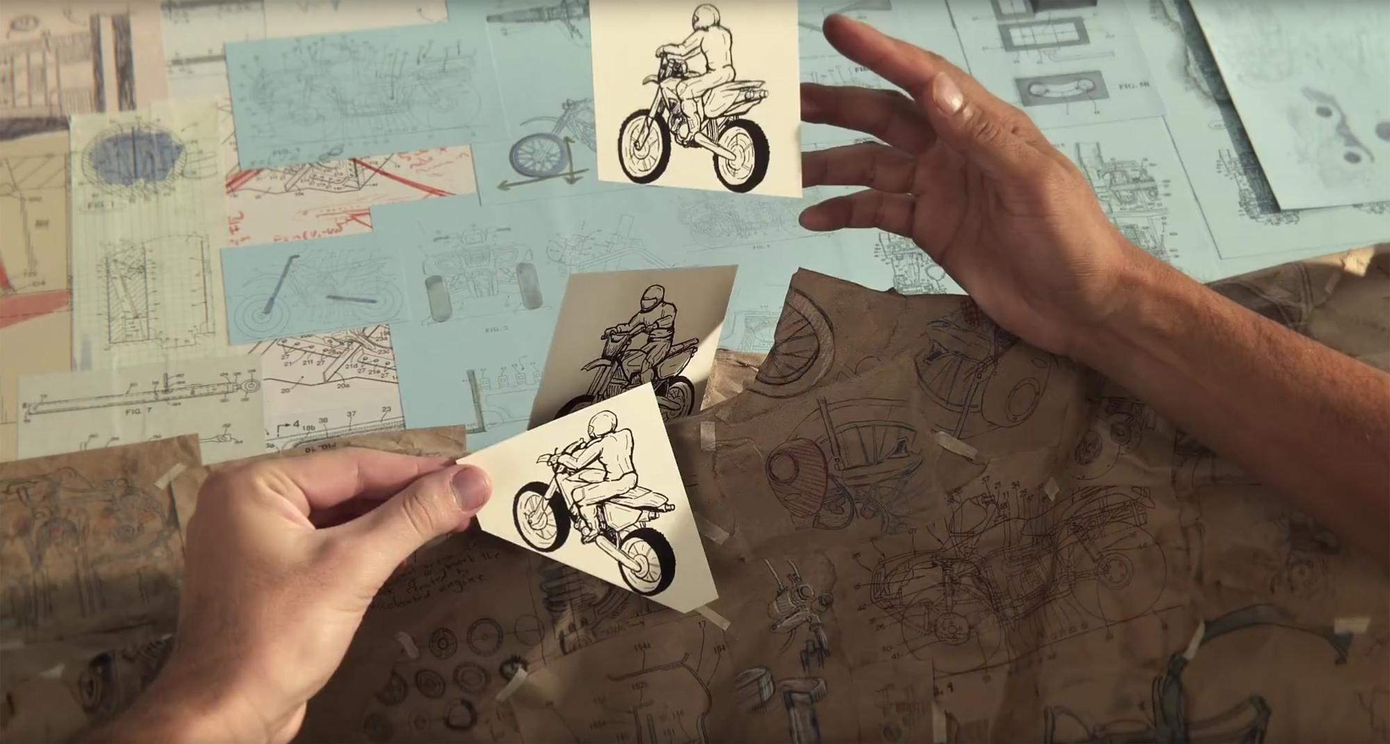 Honda cuenta su historia en papel y en stop-motion