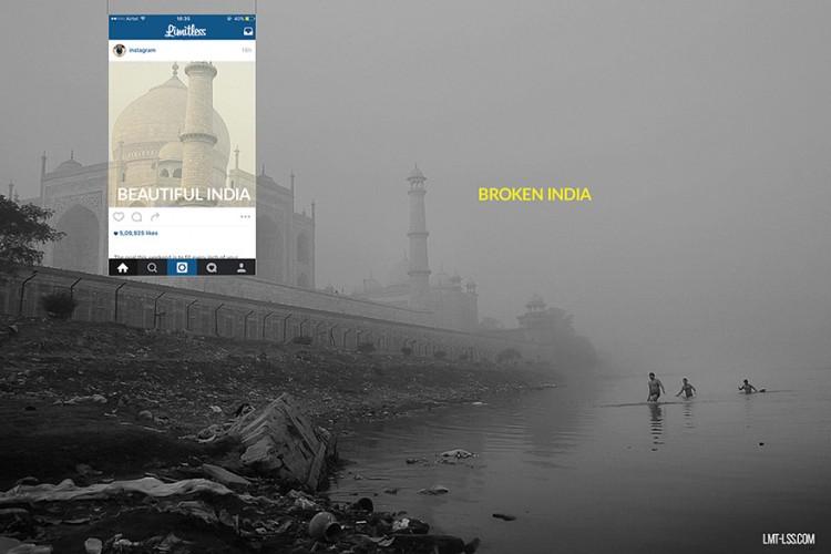 Broken India; La otra cara de India en Instagram