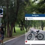 Chompoo muestra el postureo de Instagram