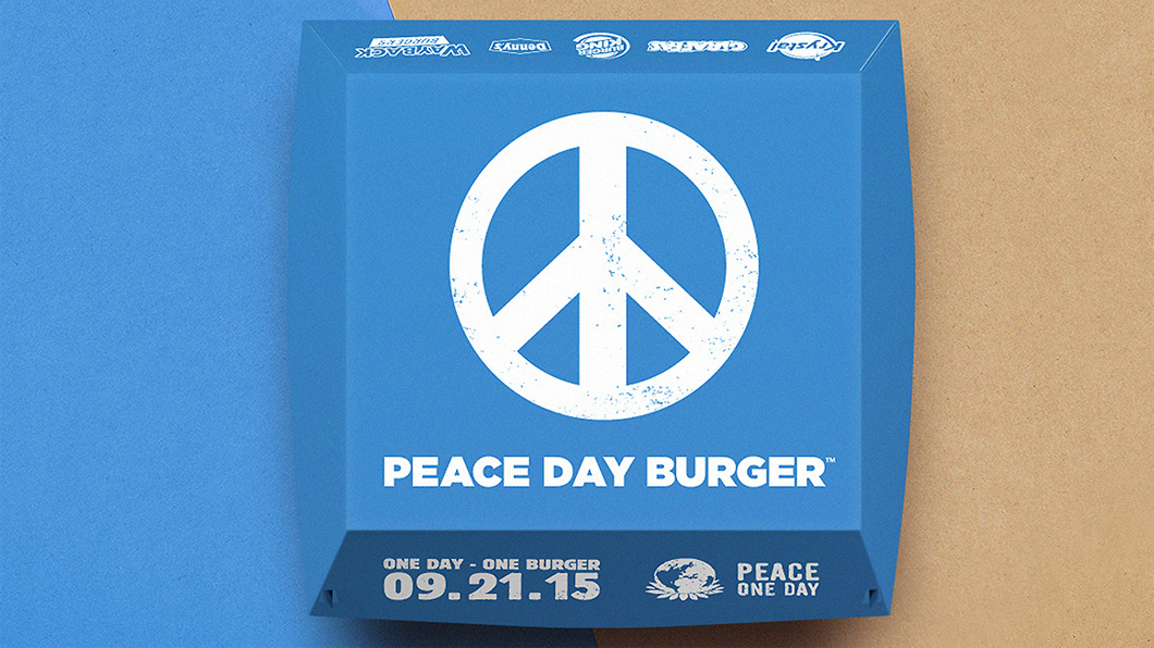 Burger King y el Peace Day Burger