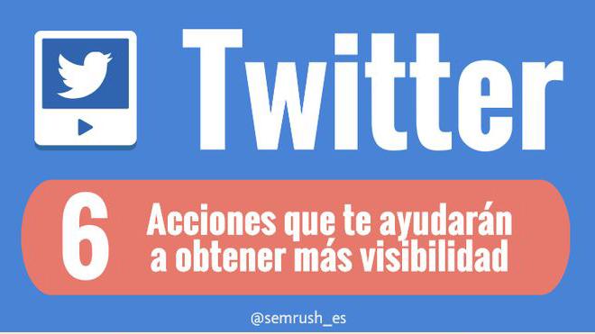Seis consejos para tener más visibilidad en Twitter