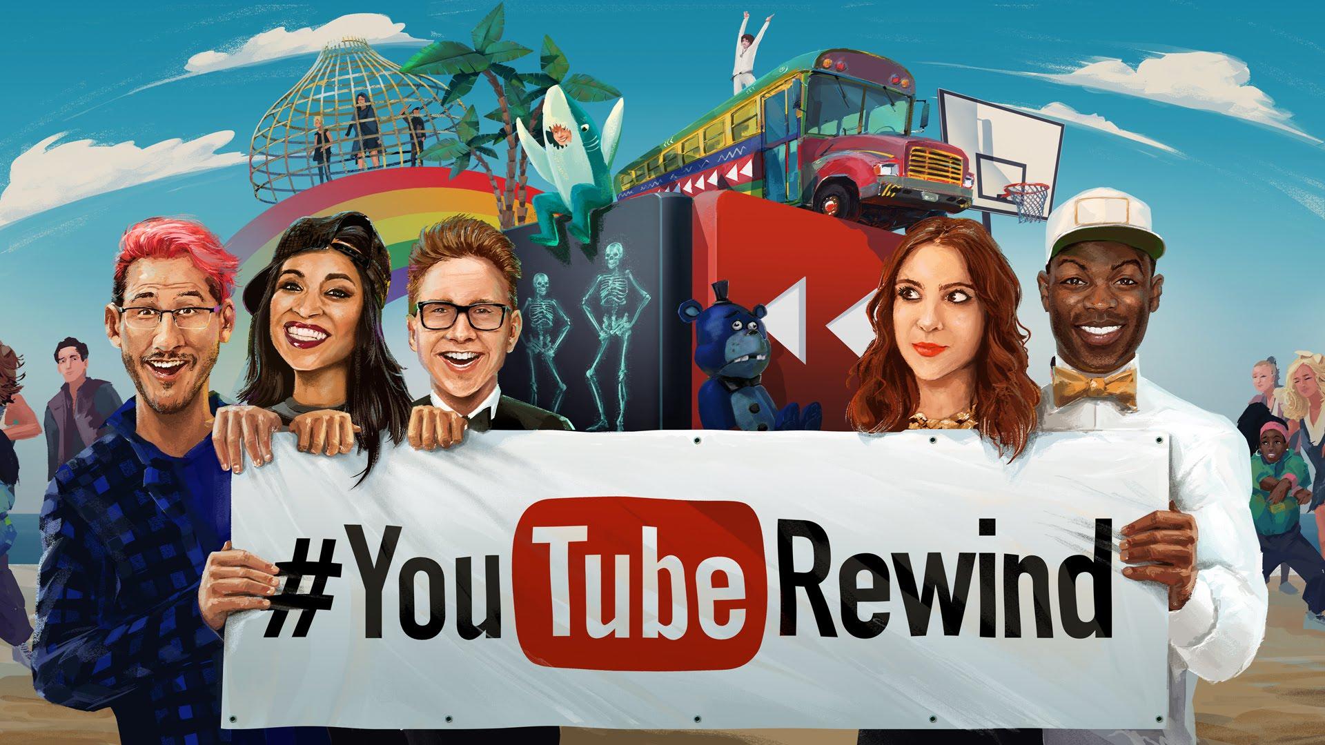 #YouTubeRewind 2015: Un año en YouTube