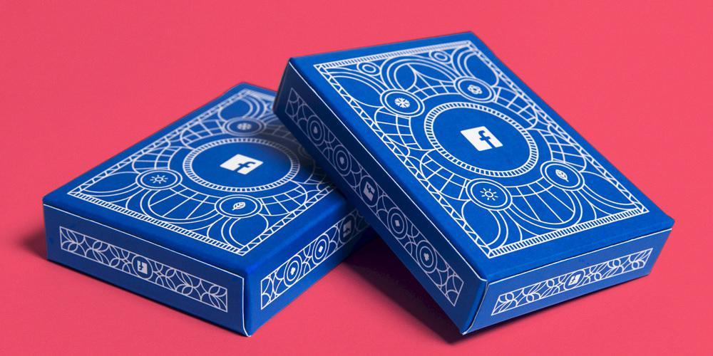 Estadísticas de Facebook convertidas en una baraja de cartas