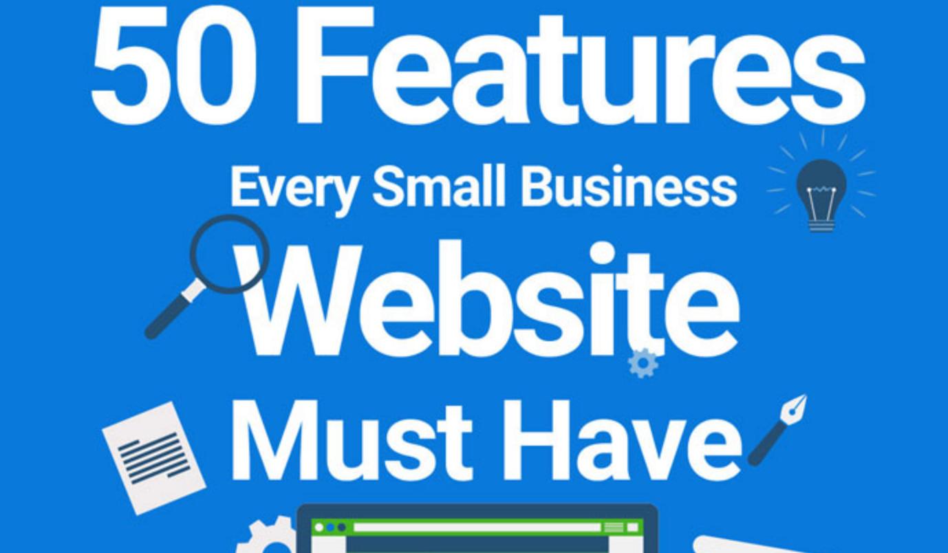 50 Características que el Sitio Web de un negocio debe tener