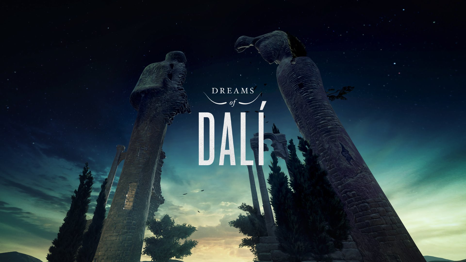 Volar por las pinturas de Dalí