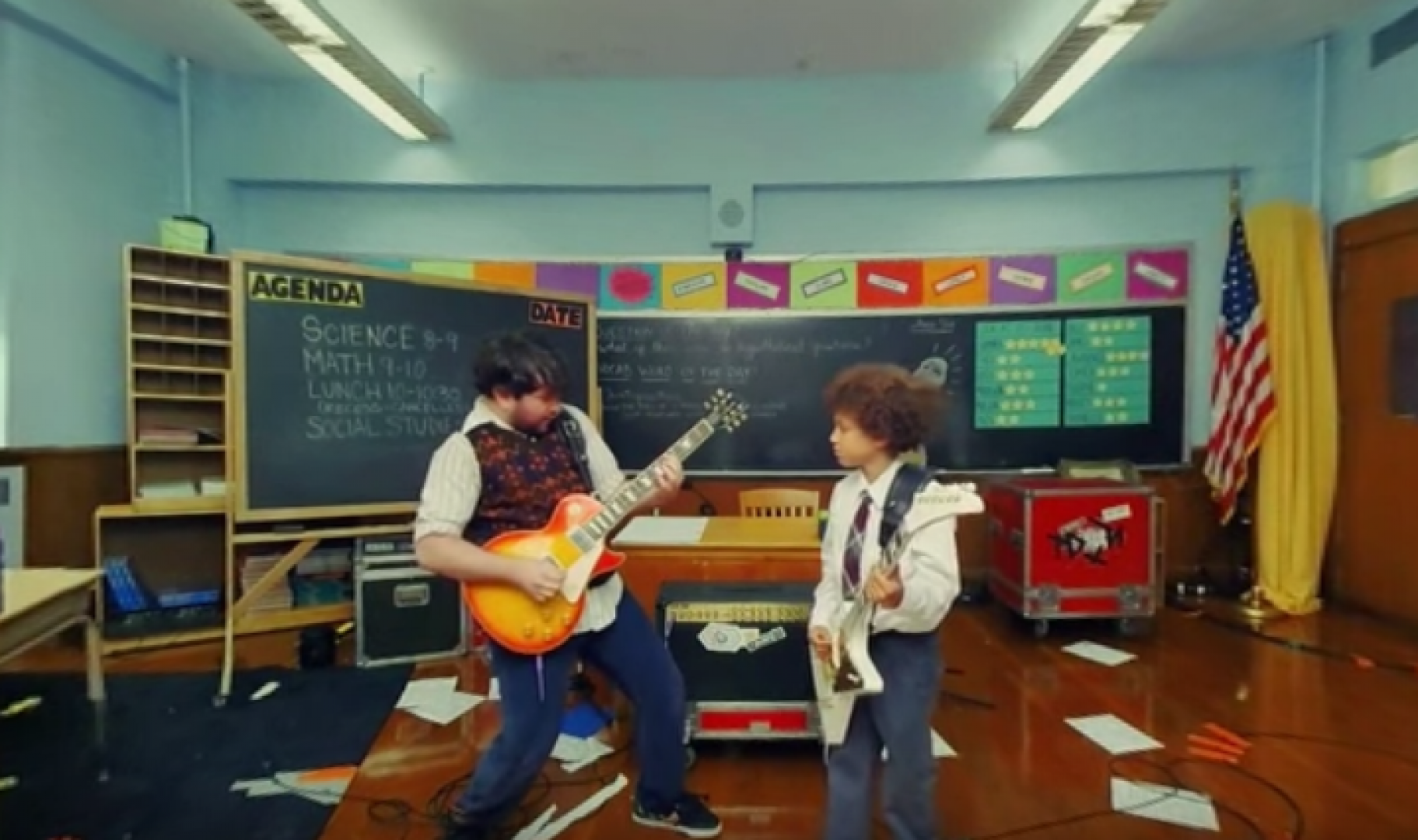 School Of Rock en 360º en YouTube