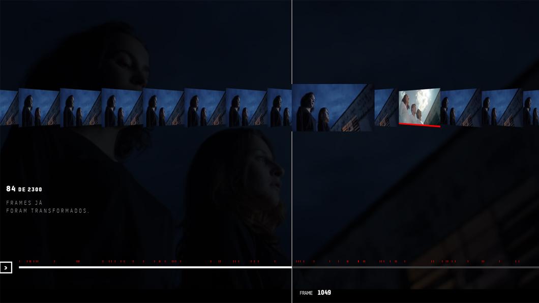 Frame do Bem – Un vídeo que cambia con cada donación