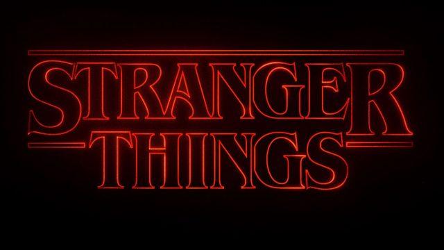 Cómo hicieron los títulos de Stranger Things
