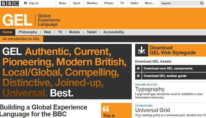 BBC Global Experience Language Guía de Estilo