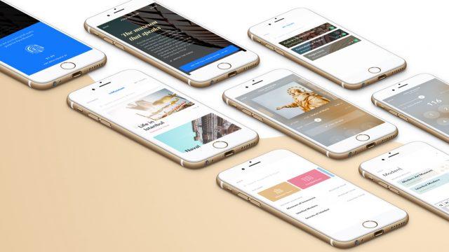 Diseño de la app inMuseum