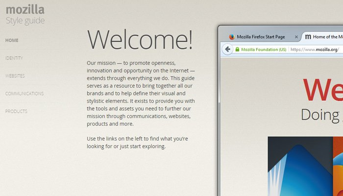 Mozilla Guía de Estilo