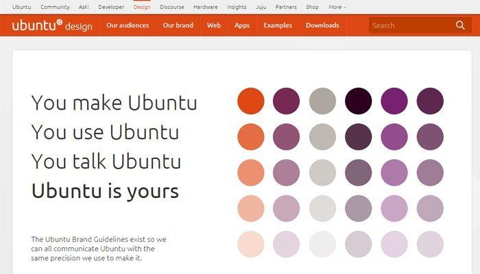Ubuntu - Guía de estilo de diseño