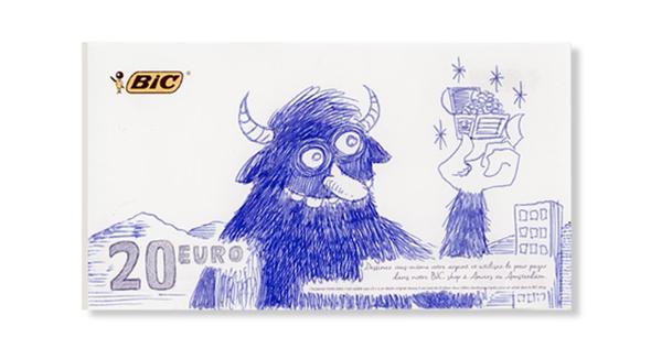 BIC paga con creatividad