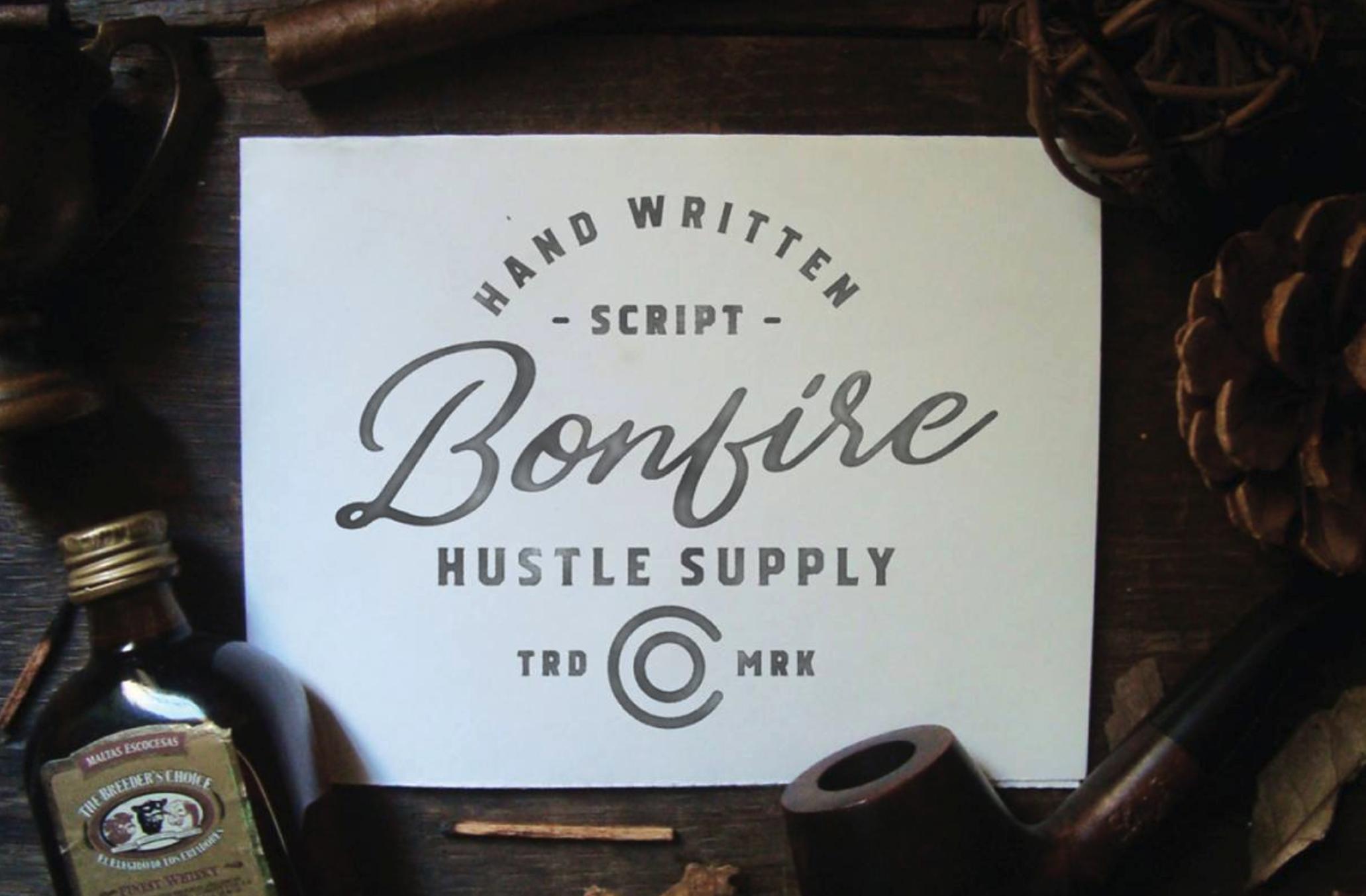 Bonfire - Fuente Tipográfica