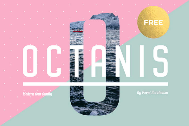 Octanis - Fuentes tipográficas