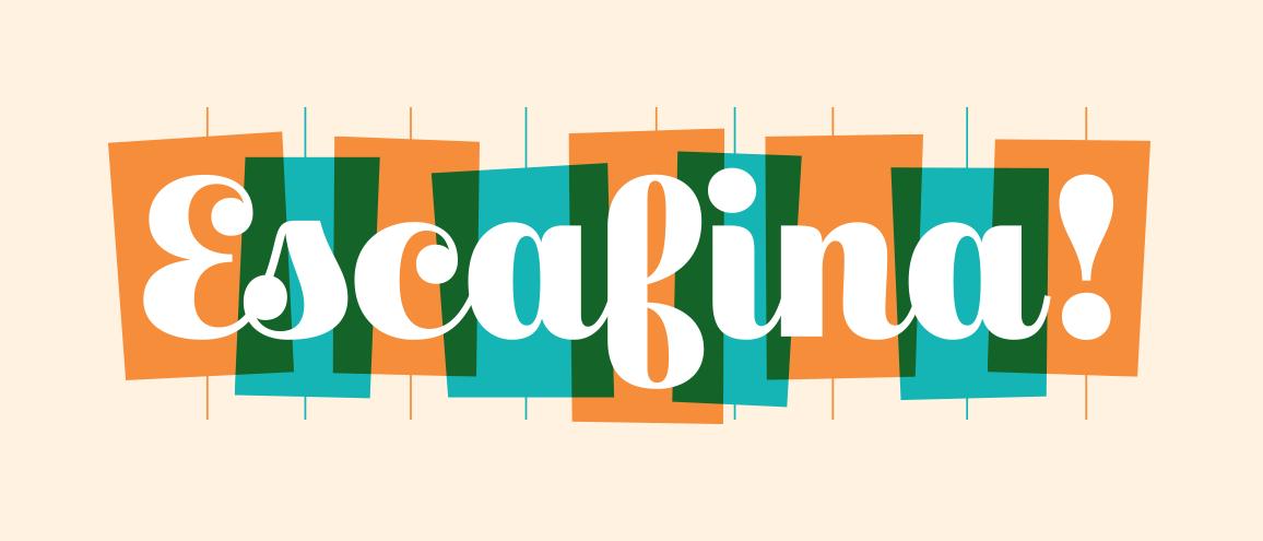Escafina - Fuentes tipográficas
