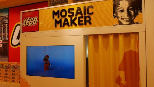 Un fotomatón crea tu retrato con bloques de LEGO