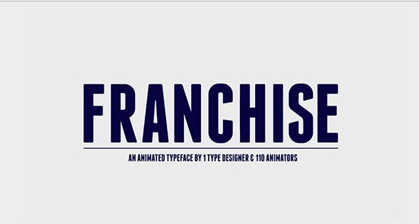 Franchise - un proyecto After Effects gratis