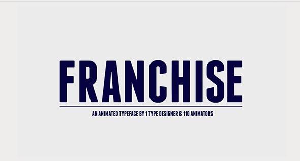 Franchise - un proyecto After Effects gratis