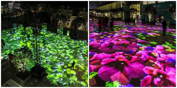 Una impresionante y colorida campaña para dar la bienvenida a la primavera en China