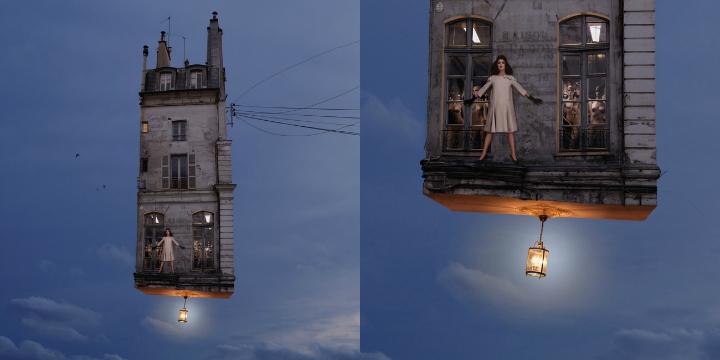 Flying Houses - Laurent Chéhère Paris