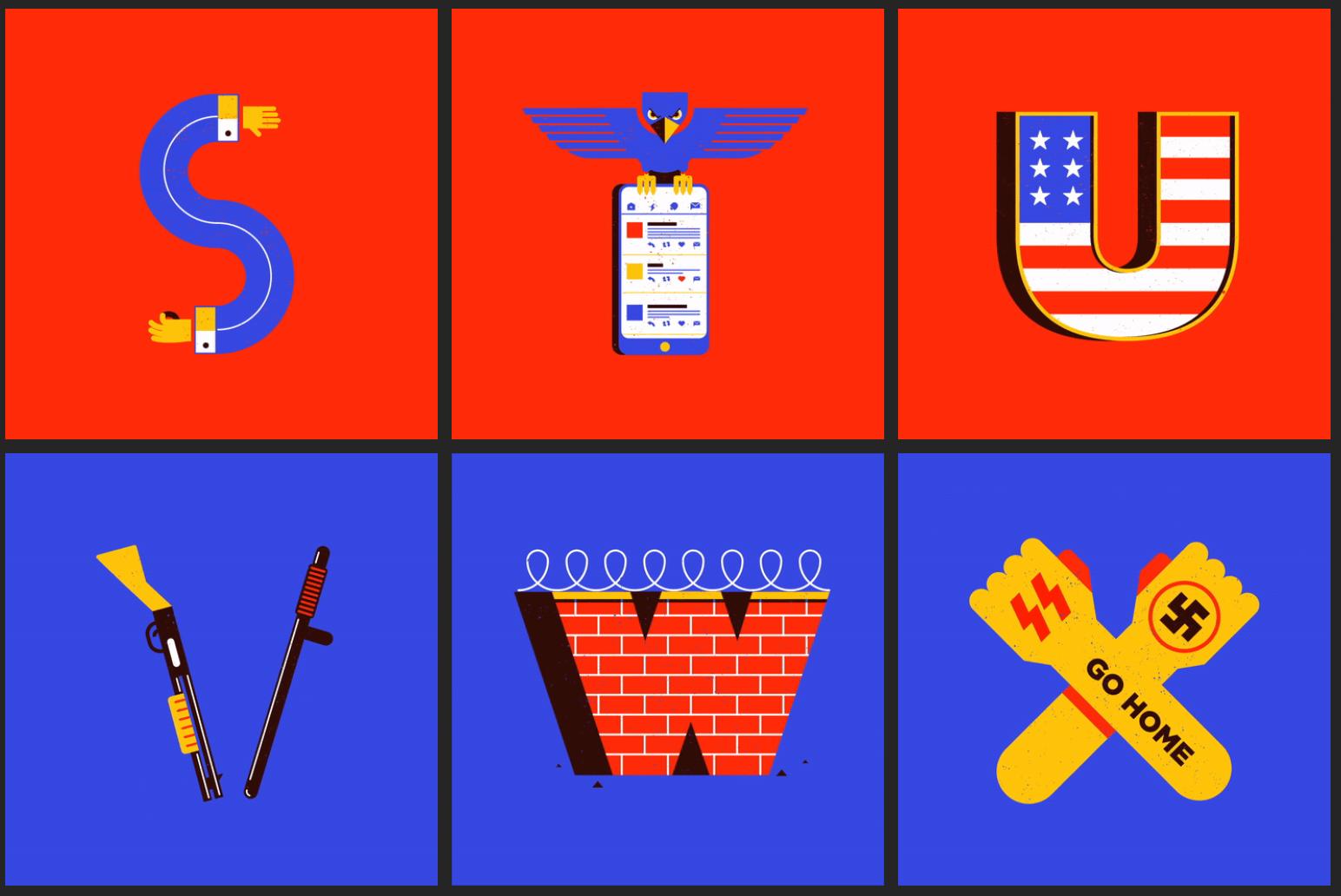 Typocalypse - Tipografías contra Donald Trump