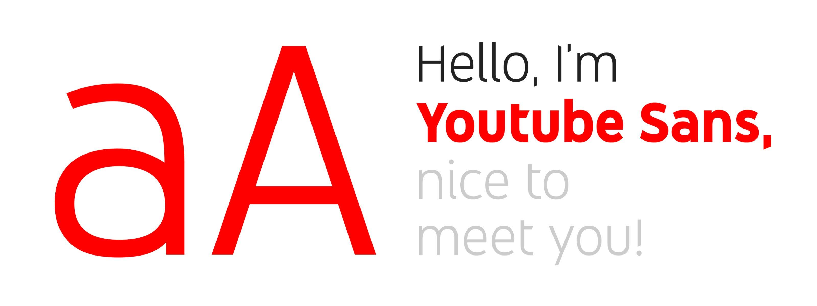 YouTube Sans Tipografia