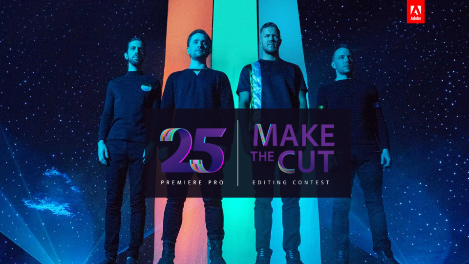 "Adobe Premiere Pro lanza ""Make the Cut"" con Imagine Dragons"