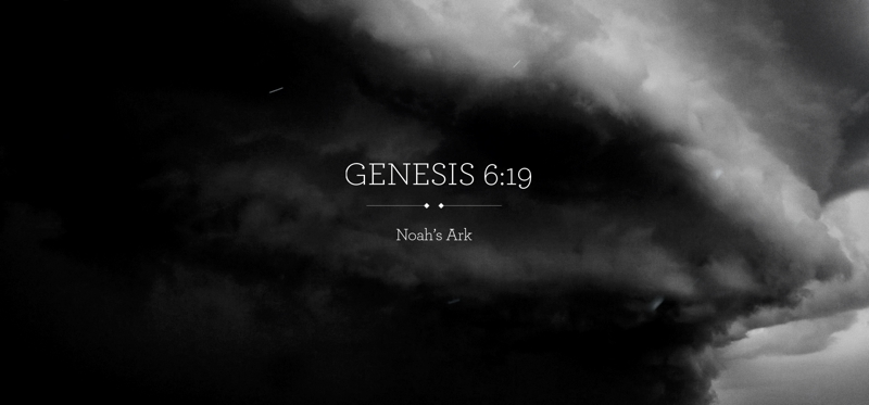 Cuando se reintrepreta la historia del Arca de Noé