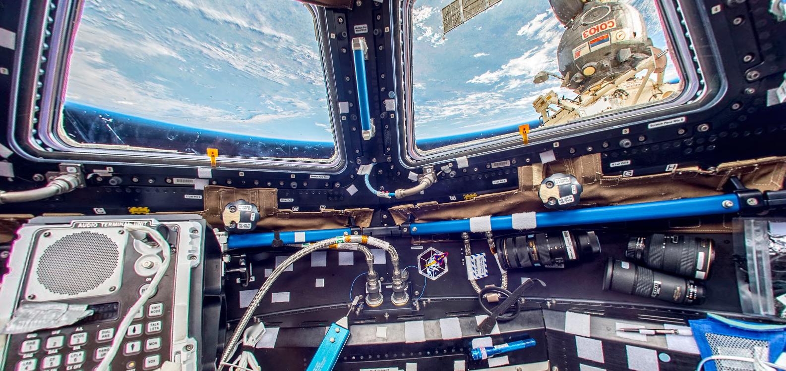 La estación espacial en formato Street View