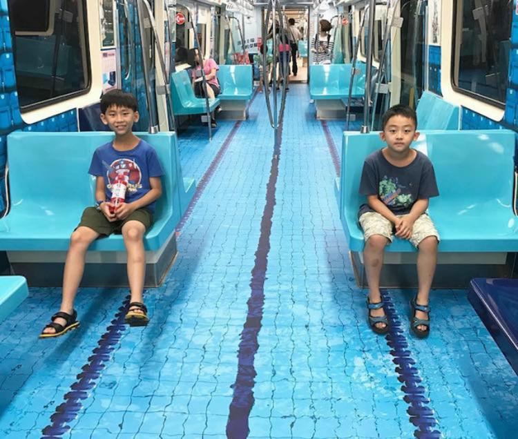 El Metro de Taiwan celebra los Juegos Universitarios Mundiales