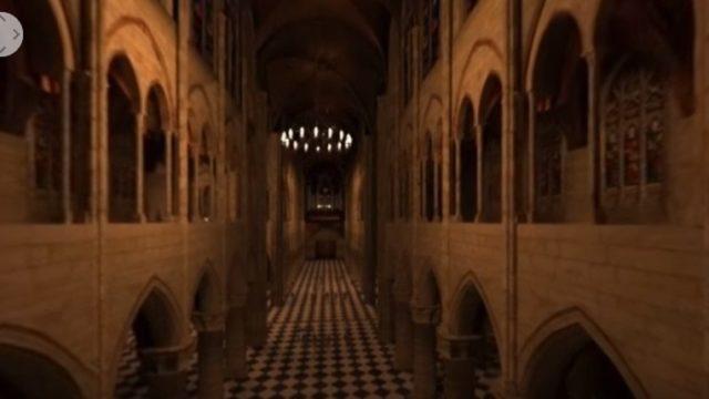 La Catedral de Notre Dame en 3D
