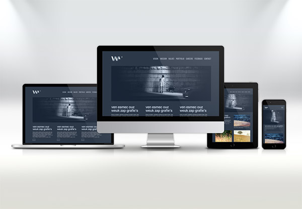 Showcase - mockup en PSD