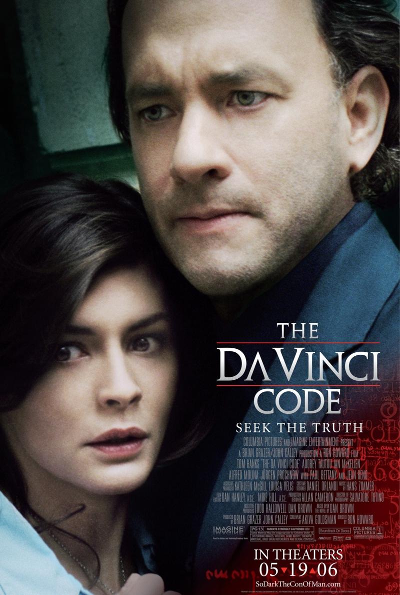 Posters El Código da Vinci - Fuente Trajan