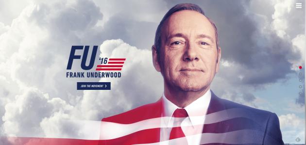 FU2016 - Frank Underwood nueva temporada de House Of Cards en Netflix