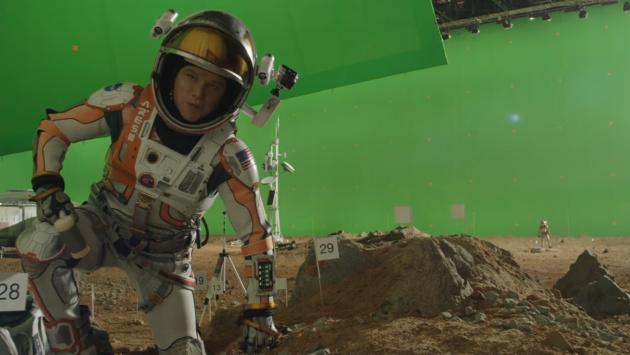 Los efectos especiales The Martian