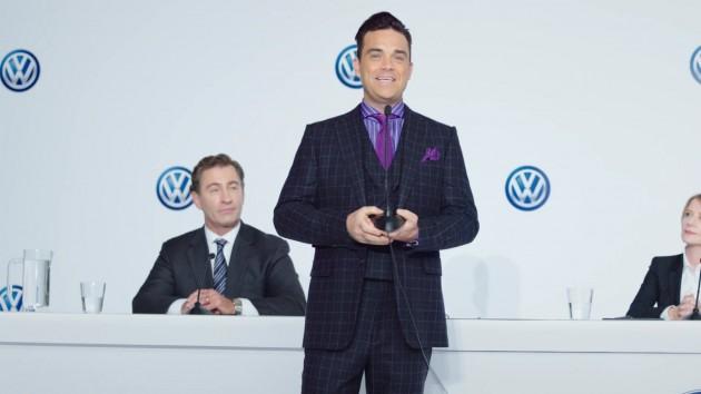 Robbie Williams es el nuevo Director de Marketing de Volkswagen